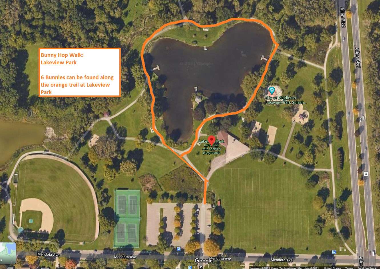 Lakeview Park Map
